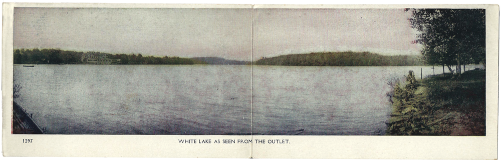 White Lake in 1912